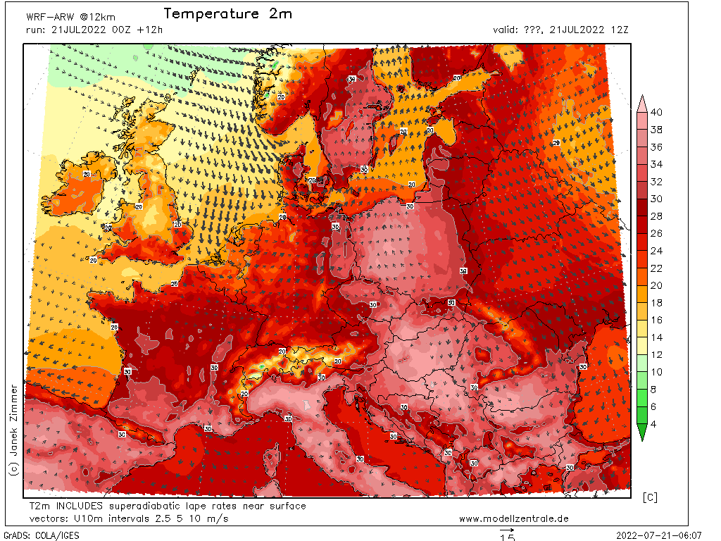 mapy Europa